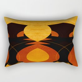 Art Deco Square   Rectangular Pillow