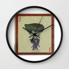 mini joker cards  Wall Clock