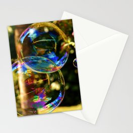 Bubbles | Bulles Stationery Cards