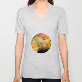 gay kiss Unisex V-Neck