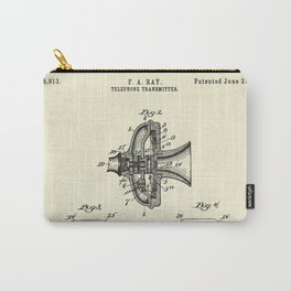 Telephone Transmitter-1898 Carry-All Pouch