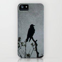 Majestic Crow iPhone Case
