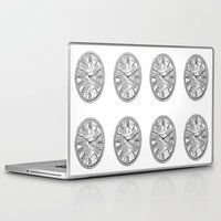 clock Laptop & iPad Skins featuring Clock by Mr and Mrs Quirynen