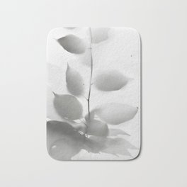 Leaf shadow Bath Mat