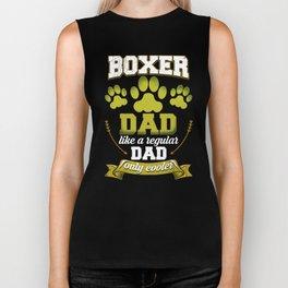 Boxer Dad Like A Regular Dad Only Cooler Biker Tank