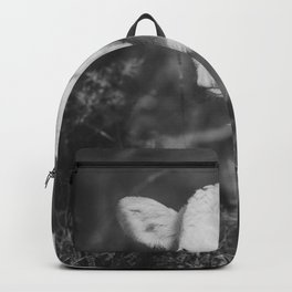 Cute Calf (Black and White) Backpack