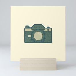 Retro Camera Icon Mini Art Print