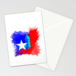 San Juan P.R Watercolor Stationery Cards