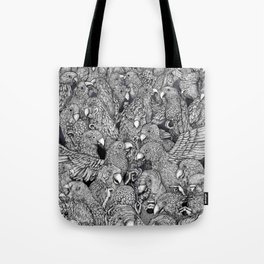 Birds of a feather .. Tote Bag