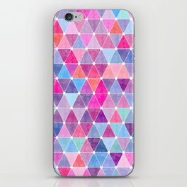 Lovely geometric Pattern iPhone Skin