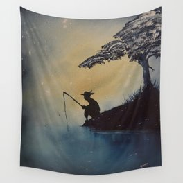 Adventures of Huckleberry Finn by Mark Twain Wall Tapestry