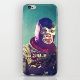 Luna Luchador iPhone Skin