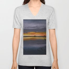 Smith's Point Sunrise Unisex V-Neck