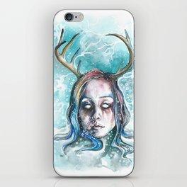 Strangely Christmasy iPhone Skin