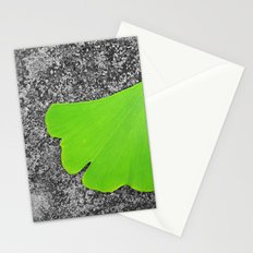 ginkgo leaf I Stationery Cards