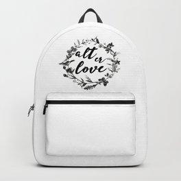 alt er love floreal Backpack