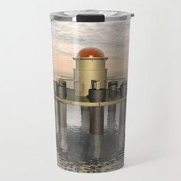 Structure At Sea Travel Mug
