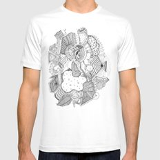 and that's how babies are made Mens Fitted Tee White SMALL