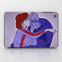 garrus iPad Cases featuring Calibrating! by its-liss