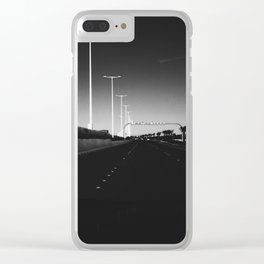 Highway Clear iPhone Case