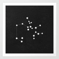sagittarius Art Prints featuring Sagittarius by Alisa Galitsyna