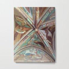 Ceiling Fresco Metal Print