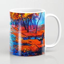 Tardis Art Tree Blossom Coffee Mug