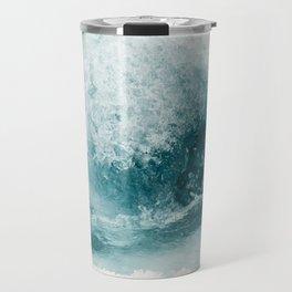 Water Swirl Travel Mug