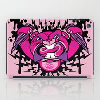 beaver iPad Cases featuring Evil Beaver by harebrained