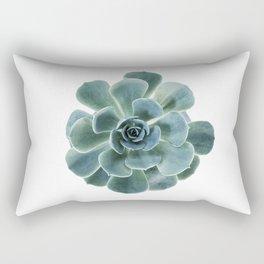 Echeveria Succulent Close Up Rectangular Pillow