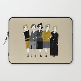 Meet the Bright Young Sisters Laptop Sleeve