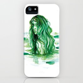 Frog Princess Sea Witch iPhone Case