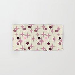 Retro Pattern Rose Hand & Bath Towel