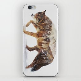 Arctic Wolf iPhone Skin