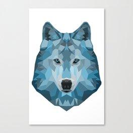"""Ice Wolf"" Canvas Print"