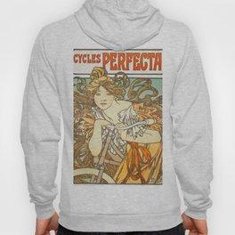 Cycles Perfecta by Alphonse Mucha, 1902 Hoody