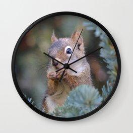 Mr. Squirrel ~ I Wall Clock