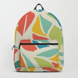 Colors of the wind fall leaves Backpack