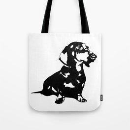 Dachshund Doxie Daxie Wiener  Dog Breed  Tote Bag