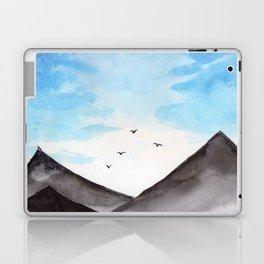 Blue Landscape with mountain Laptop & iPad Skin