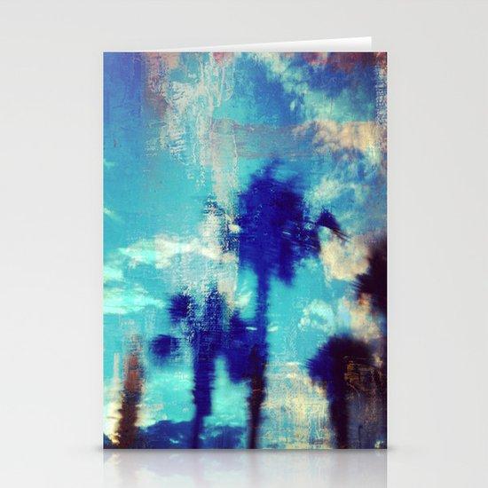 Underwater Palms Stationery Cards
