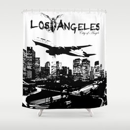 Los Angeles: City of Angels Shower Curtain