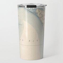 Vintage Map of Lower Cape Cod Travel Mug