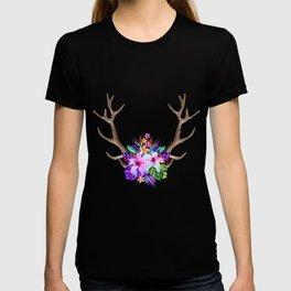 Floral Horn T-shirt