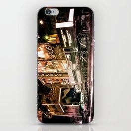 Lights on Broadway iPhone Skin