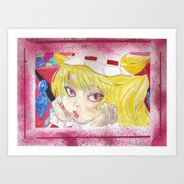 Flandre Art Print