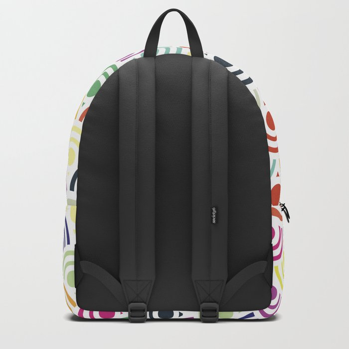 Colorful Circles II Backpack