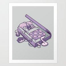 TAPE NAP Art Print