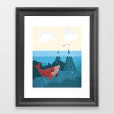 Hidden World Framed Art Print