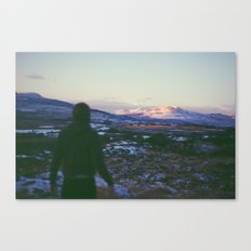Looking Out To Snowdon Canvas Print